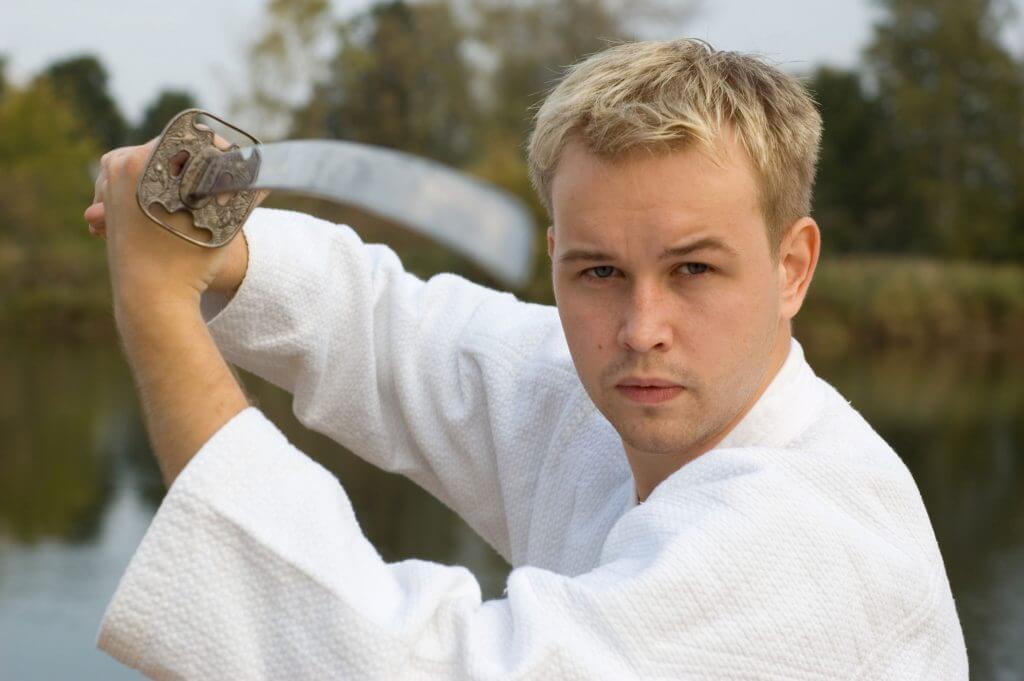 Martial Arts Lessons for Adults in Allen TX - Samurai Sword Posing Blog