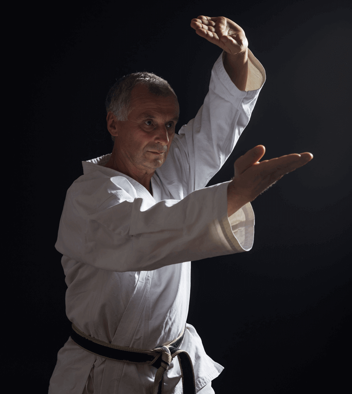 Martial Arts Lessons for Adults in Allen TX - Older Man