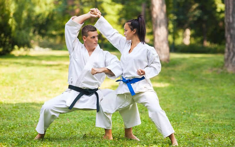 Martial Arts Lessons for Adults in Allen TX - Outside Martial Arts Training