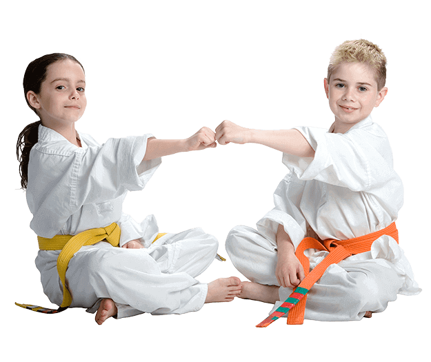 Martial Arts Lessons for Kids in Allen TX - Kids Greeting Happy Footer Banner