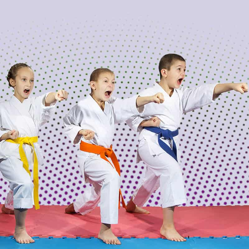 Martial Arts Lessons for Kids in Allen TX - Punching Focus Kids Sync
