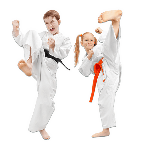 Martial Arts Lessons for Kids in Allen TX - Kicks High Kicking Together