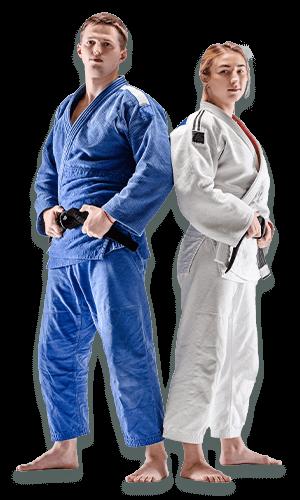 Brazilian Jiu Jitsu Lessons for Adults in Allen TX - BJJ Man and Woman Banner Page